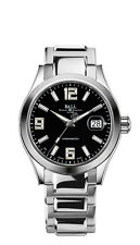 NEW BALL ENGINEER II PIONEER COSC BLACK DIAL MEN'S WATCH NM2026C-S4CAJ-BK