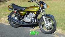Kawasaki 1976 KH400 Triple VIN tag headstock decal - The VERY BEST