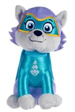 """NEW OFFICIAL 12"""" PAW PATROL SUPERHERO EVEREST PLUSH SOFT TOY NICKELODEON DOGS"""