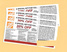 **(4)** 20% OFF HOME DEPOT Competitors Coupon to use at Lowe's expires 7/31/17