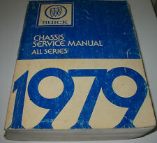 Service Manual Buick All Series Skylark Century Regal Electra Limited Riviera!