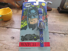1992 BATMAN RETURNS WATCH NEW OLD STOCK UNOPENED AND MINT