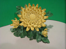 LENOX CHRYSANTHEMUM Flower MUM Figurine NEW in BOX with COA