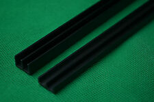 FULL LENGTH 1.2m PVC RUNNERS fit 4ft VIVARIUM GLASS DOORS 6MM TOP & BOTTOM
