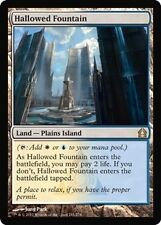 MTG MAGIC RETURN TO RAVNICA HALLOWED FOUNTAIN (NM)