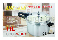 Aluminium Kitchen Pressure Cooker Catering Quality With Gasket 11L Litre 28CM NT