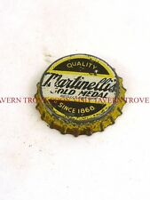 1940s Martinelli's Gold Medal Apple Cider Something Cork Crown Tavern Trove