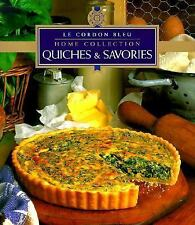 Quiches and Savories Vol. 18 by Le Cordon Bleu (1999, Hardcover) Cookbook
