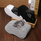 6-12 Pairs women/Men Cotton Loafer Boat Non-Slip Invisible Low Cut No Show Socks