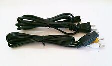NEW AV Audio Video Cable & 6 FT AC Power Adapter Cord SET for Playstation 2 PS2