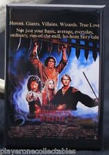 "The Princess Bride Movie Poster - 2"" X 3"" Fridge / Locker Magnet."