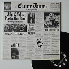 "Vinyle 33T John & Yoko / Plastic Ono Band   ""Some time in New York city"""