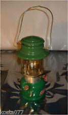 Vintage, 1-77, Rare Coleman Canada, Model 335 Green Lamp Lantern