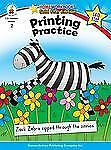 Home Workbooks: Printing Practice, Grade 2 by Carson-Dellosa Publishing Staff...