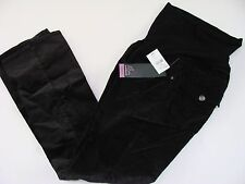 Maternity Pants Black Size L Large Women's NWT OH Baby by Motherhood Corduroys