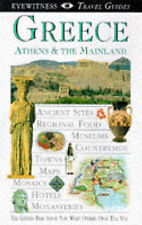 Greece, Athens and the Mainland (Eyewitness Travel Guides)  Very Good Book