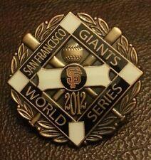 SAN FRANCISCO GIANTS 2012 WORLD SERIES CHAMPIONS LAPEL PIN 5a