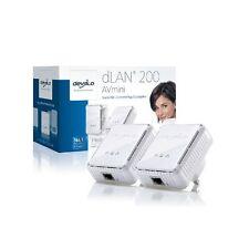 Devolo dLan 200 AVmini Starter Kit 2 x HomePlug AV Adapters
