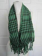 Green And Black Houndstooth Scarf From Hot Topic  Neck Warmer