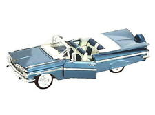 1959 Chevrolet Impala Convertible ROAD SIGNATURE Diecast 1:18 Scale Blue