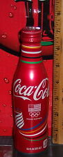 2016 COCA - COLA PROUD PARTNER RIO   ALUMINUM 8.5 OUNCE COCA - COLA  BOTTLE FULL
