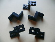 Lego 5 pieces de voitures noires set 7243 8079 7297 10144 / 5 black bracket