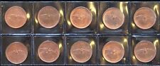 CANADIAN 1867 - 1967 CENTENNAL ONE CENT - Penny - LOT of 10 - NCC
