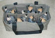 8 Pocket Custom Decoy Bag for Teal, Bufflehead, Wood Duck & Smaller Size Decoys