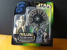 Star Wars Power of the Force: Hoth Rebel Soldier w/  Anit-Vehicle Laser Cannon