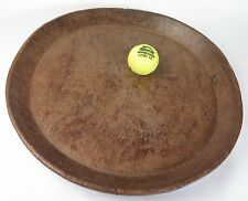 African tribal art wooden meat tray 47cms diameter. Ethnographic.