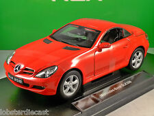 MERCEDES BENZ SLK 350 in Red 1/18 scale model by WELLY