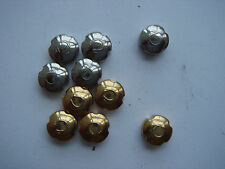 Omegas crowns NOS for Sea master type 5 GF, 5SS total 10 pieces big size NICE