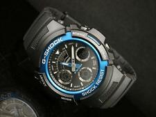 Casio G-Shock AW-591-2A Men Alarm Black Strap Water Resistant Watch AW-591-2ADR