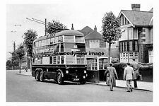pt7848 - Grimsby Trolleybus no 11 at Cleethorpes - photograph 6x4