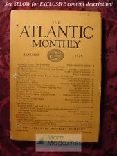 ATLANTIC January 1929 WILMA PRANCES MINOR SUSAN ALFORD