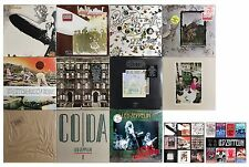 LED ZEPPELIN lot of 11 NEW original factory sealed 1970s/80's vinyl LPs + MORE!