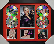 PINK 4CDs FRAMED MEMORABILIA LIMITED EDITION