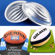 2X Half Ball Football Rugby cake decoration mould mold cup cake topper icing PCX
