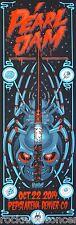 Pearl Jam Pepsi Center Denver Colorado 10/22/14 Official Concert Poster mega rar