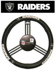 Oakland Raiders Leather Steering Wheel Cover [NEW] NFL Car Auto Truck CDG