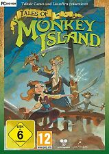 Tales of Monkey Island Telltale! PC! ALL 5 Episodes. Game in english! NEW!DVD!