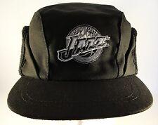 NBA Utah Jazz Vintage Winter Earflap Hat Cap One Size Fits Most Black