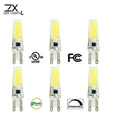 ZX Dimmable G9 COB LED Bulb 220V LED  Light Replace Halogen G9 Light Lamp