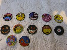 Vintage Vending Machine Mini Smiley Faces Circa 2000 Four Sets -  48 stickers