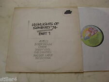 HIGHLIGHTS OF SUNBURY ´74 PART 1 AZTECS;BUSTER BROWN(ROSE TATTOO)*AUSTRALIA LP*