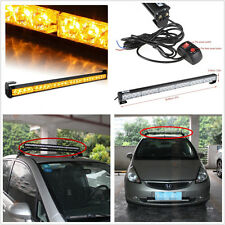 "27"" Amber 24 LED Car Off-Road Truck Emergency Traffic Advisor Flash Strobe Light"