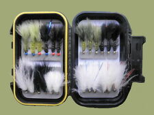 24 Cats Whisker/Flash Damsel Trout Fly, Boxed Set, Lovely Fly Fishing Gift Idea