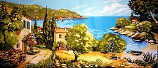 "Gobelin Tapestry Needlepoint Kit ""Landscape""  printed canvas 130"