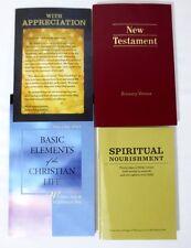 Military Recovery Packet New Testament Spiritual Nourishment Christian Life 4