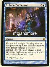 Magic commander 2013 - 1x Order of succession